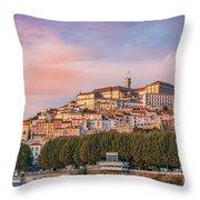Coimbra's Skyline Throw Pillow