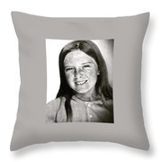 Colette 12 Years  Throw Pillow by Colette V Hera Guggenheim