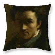Colin Alexander Painter Throw Pillow