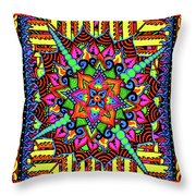 Colin's Mandala Throw Pillow
