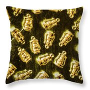Colonial Glow Throw Pillow
