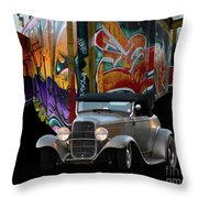 Color Me Gone Throw Pillow