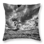 Colorado Sun Rays II Throw Pillow