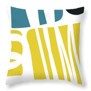 Colorful Bento 1- Art By Linda Woods Throw Pillow
