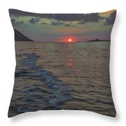 Colors Of The Sunrise Throw Pillow