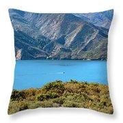 Columbia River Throw Pillow