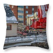 Comming Home 0 #i3 Throw Pillow by Leif Sohlman