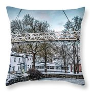 Comming Home 3 #i3 Throw Pillow by Leif Sohlman