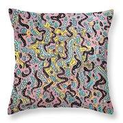 Confetti Wiggle Room Throw Pillow