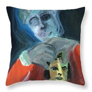 Confuser Throw Pillow