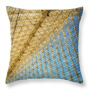 Constructive Abstract Throw Pillow