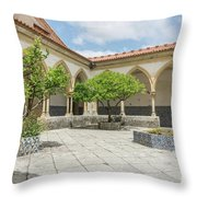 Convent Of Christ 2 Throw Pillow