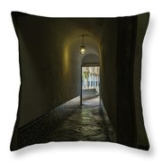 Convent Of Christ 3 Throw Pillow