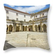 Convent Of Christ 5 Throw Pillow
