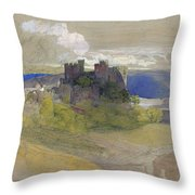 Conway Castle - Digital Remastered Edition Throw Pillow