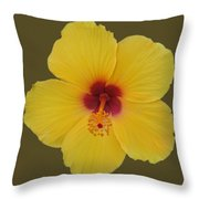 Cool Bloom Throw Pillow