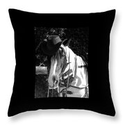 Cool Gypsy Horse Throw Pillow