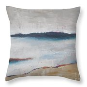 Cool Lake Throw Pillow