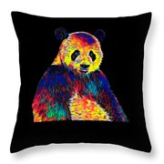 Cool Panda Little Bear Australia Animal Color Design Throw Pillow