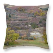 Copper Hills Autumn Throw Pillow