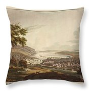 Cork Ireland 1799 Throw Pillow