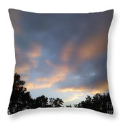 Cotton Sky Throw Pillow