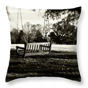 Country Swing Throw Pillow