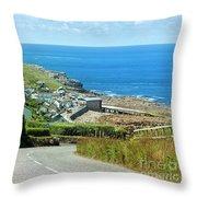 Cove Hill Sennen Cove Throw Pillow
