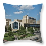 Covenant Medical Center Throw Pillow
