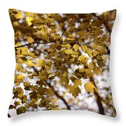 Cozy Fall Day Throw Pillow
