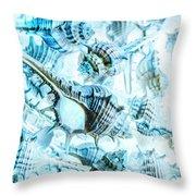 Creative Seas Throw Pillow