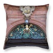 Crest Of Saint Peter Throw Pillow