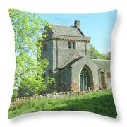 Crighton Historic Church Throw Pillow