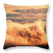 Cripple Creek Fog Throw Pillow