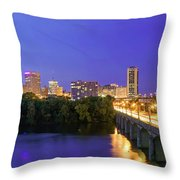 Crossing Mayo Throw Pillow