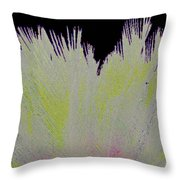 Crystalized Cacti Spears 2b Throw Pillow