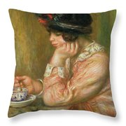 Cup Of Chocolate, 1914  Throw Pillow