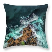 Curly Headland Throw Pillow by Chris Cousins