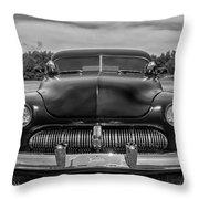 Customized 1950 Mercury In Bw Throw Pillow