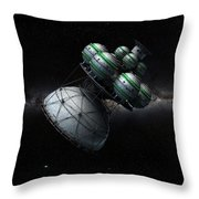 Daedalus Interstellar Throw Pillow