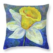 Daffodil Festival II Throw Pillow