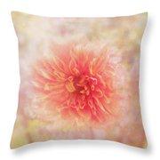 Dahlia Light Throw Pillow