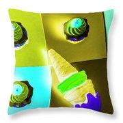 Dairy Design Throw Pillow