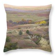 Dakota Grassland Fantasy Throw Pillow