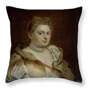 Dama Veneciana   Throw Pillow