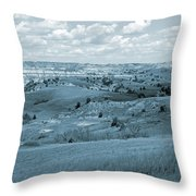 Dance Of The Clouds And Sun Throw Pillow