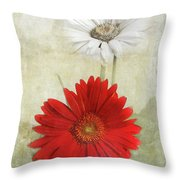 Dancing In The Moonlight Throw Pillow by Judy Hall-Folde