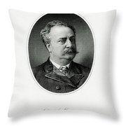 Daniel Manning Throw Pillow