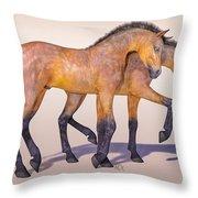 Darling Foal Pair Throw Pillow