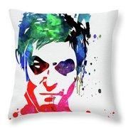 Daryl Watercolor II Throw Pillow